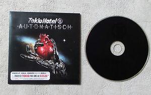 "CD AUDIO MUSIQUE / TOKIO HOTEL ""AUTOMATISCH"" CD SINGLE CARDBOARD SLEEVE POP ROCK"
