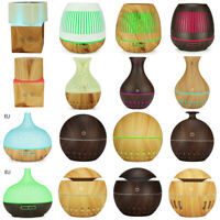 Air Aromatherapy Humidifier Mist Timing LED Purifier Ultrasonic Aroma Diffuser