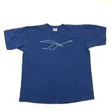 Vintage Reebok Classic Vector Tee Big Logo Adult Xxl 2Xl Loose Fit Made In Usa