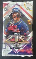2020 Topps Fire MLB Baseball Hobby Box Factory Sealed Pack (1) - 6 Cards