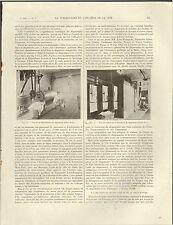 LILLE ARTICLE PRESSE DISPENSAIRE EMILE ROUX TUBERCULOSE HYGIENE HENRI VERNE 1914