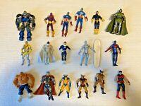 Marvel Universe 17 Figure Lot WOLVERINE SPIDER-MAN 2009 SILVER SURFER Others
