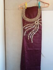 Brand new Punjabi Suit unstitched Indian  Salwar kameez