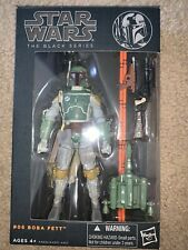 "Hasbro Star Wars The Black Series Orange Line Boba Fett 6""Action Figure Free S&H"