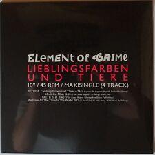 "Element of Crime - Lieblingsfarben und Tiere 10"" Maxi vinyl NEU/OVP/SEALED"