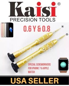 iPhone 7G Plus Screwdriver Y0.6 0.8 Repair Open Lcd Pentalobe opening tools Y000