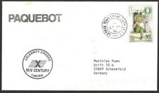 Bahamas George Town PAQUEBOT Hosking 2382 on 1996 LIBERIA cover M/V CENTURY