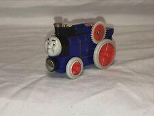 Thomas Wooden Railway Fergus Tractor Train Set Farm Blue 2003 Retired Design