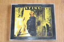 The Police - Sting /  Europe CD / Love Is Stronger Than Justice