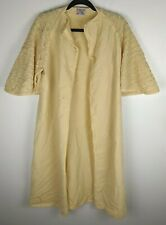 New listing The Misses Shop Bullocks Wool Open Over Coat Kimono Style Beige Women's Vintage