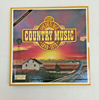 Reader's Digest The Golden Age Of Country Music 1940 -1970 7 LP Record Album