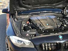 BMW F10 F11 F07 F01 F02 Cubierta Del Motor Acústico, raro de carbono 530d 525d 730d GT530d