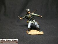 """Airfix WW2 """"German Infantry """"1:32,Hand painted soldier Tabletop-High standard"""