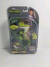 STEALTH WowWee Fingerlings Untamed Raptor Dinosaur Fingerling Fingertip Dino NEW