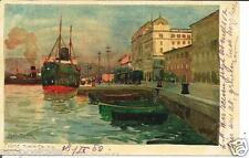 cr 32  1920 Fiume  Rijeka (Croazia) - Adria Palais -  Porto  Viaggiata Form picc