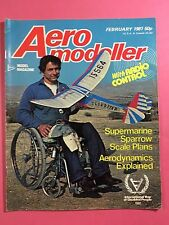 AERO MODELLER - February 1981 - Vintage Model Aircraft Magazine, R/C Sport Flyer
