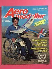 AERO MODELLER - February 1981 - Vintage Model Aircraft Magazine, R/C Sport Flyer