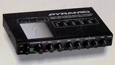 Pyramid 701P Half-Din 5-Band Rotary control parametric Equalizer