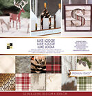 """American Crafts DCWV 12""""x12"""" Luxe Lodge Premium Cardstock Stack Acid-Free Sheets"""