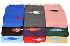 Thunderbird Mexican Yoga Blanket - Pink