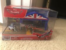 🎄 Disney Planes Bulldog Pit Row Gift Pack Die-Cast New