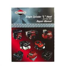 Briggs and Stratton workshop and Repair Manual PDF