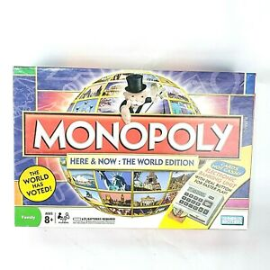Monopoly 2008 Here Now The World Edition Board Game Electronic Banking Unit