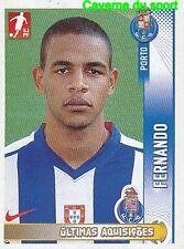 377 FERNANDO FC.PORTO BRAZIL MANCHESTER CITY UPDATE STICKER FUTEBOL 2009 PANINI