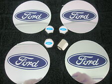 Ford Wheel Center Badges and Tyre Valve Caps