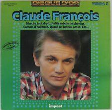 Claude François 33 tours Impact Disque d'Or N°3