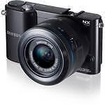 Samsung NX NX1100 20.3MP Digital Camera - White (Kit w/ ED 20-50mm Lens)