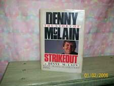 "DENNY McLAIN SIGNED BOOK ""STRIKEOUT"" 2X CY WINNER"