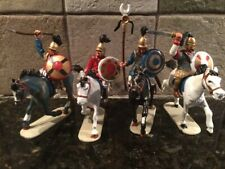 Toy Soldiers 4 Plastic 54mm Mounted Carthaginians