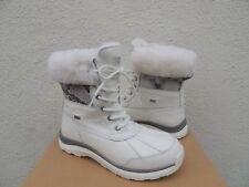 UGG WHITE ADIRONDACK III SNAKE WATERPROOF SHEEPSKIN BOOTS, US 10/ EUR 41 ~NIB