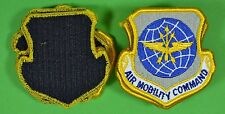Dealer Lot 20 AIR MOBILITY COMMAND Air Force Patches - GI Issue - Hook Loop