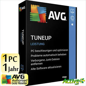 AVG PC TuneUp 2021 1 PC Vollversion 1 Jahr TuneUp Utilities DE Tune Up 2020 NEU