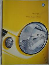 VW Lupo GAMA FOLLETO 2002 Modelo año pub de febrero de 2002