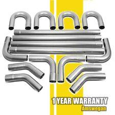 "16Pcs 3"" Mild Steel Anti-Rust Mandrel Exhaust Pipe Straight & Bend Kit"