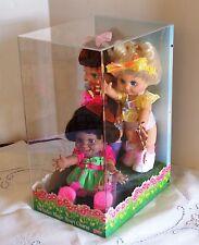Rare Galoob Designer Showcase Mint Set 3 Baby Face Dolls # 5, 6, 9 Funny Natalie