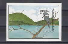 TIMBRE STAMP BLOC ILE GRENADE Y&T#195 OISEAU BIRD NEUF**/MNH-MINT 1988 ~A45