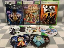 (Lot of 8) XBOX 360 Video Games Kinect Adventures Fable Journey Madden XCOM