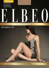 ELBEO ELEGANCE Taille 3 (42/44) Collant transparent brillant 20den Sandel