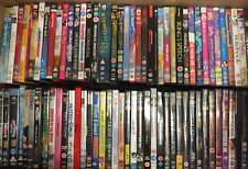 100 mixed DVDs joblot wholesale films resale boot fair FREE delivery