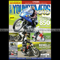 YOUNGTIMERS MOTO 31 NORTON 850 COMMANDO YAMAHA XJ 900 BENELLI 500 GITAN GRILLO