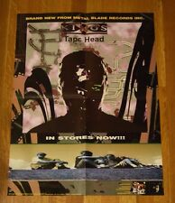 """KING'S X """"Tape Head"""" Record Store Album Promo Poster RARE 18 x 24"""