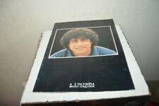 ANCIEN ALBUM PROGRAMME OLYMPIA  ENRICO MACIAS  VINTAGE 1982 COQUATRIX PUB