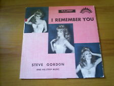 STEVE GORDON and his STRIP MUSIC I remember you RARE FRENCH LP AMERICA