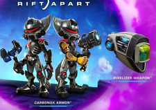 Ratchet & Clank: Rift Apart DLC Pixelizer Weapon & Carbonox Armor Set (NO GAME)