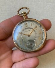 Rolex pocket watch vintage gold filled case 1920's