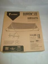 CATOMA BURROW LTE Sole Tent Popup BedNet Mil-Spec 700 RS Coyote **New in Box**